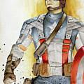Captain America by Marc Brawner