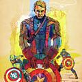 Captain America by Phalguni Roy