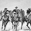 Captain Dodge's Troopers To The Rescue by Frederic Remington