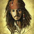 Captain Jack Sparrow by Jaroslaw Blaminsky