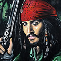 Captain Jack Sparrow by Tom Carlton