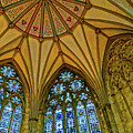 Chapter House Ceiling, York Minister by Brian Shaw