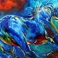 Captured Wild Stallion by Marcia Baldwin