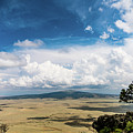 Capulin Volcano View New Mexico by Lawrence S Richardson Jr