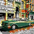 Car Club 1960s by Oleksandr Dorogyy
