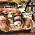 Car Full Of Memories, Ghost Town, Jerome, Arizona by Lila Bahl