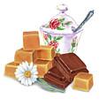 Caramel Chocolate by Irina Sztukowski