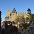Carcassonne Castle by Dawn Crichton