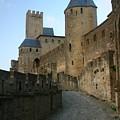 Carcassonne Castle by Minaz Jantz