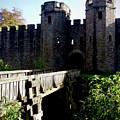 Cardiff Castle Gate by Rachel Morrison