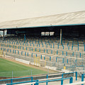 Cardiff - Ninian Park - East Stand Railway Side 2 - August 1991 by Legendary Football Grounds
