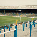 Cardiff - Ninian Park - East Stand Railway Side 3 - August 1991 by Legendary Football Grounds