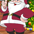 Cardinals Santa Claus by Joe Hamilton