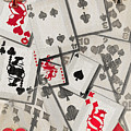 Cards Abstract by Steve Ohlsen