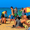 Carefree In Waikiki by Vijay Sharon Govender