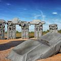 Carhenge by Susan Rissi Tregoning