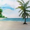 Caribbean Beach by Carole Robins