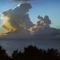 Caribbean Clouds by Terence Davis