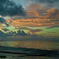 Caribbean Early Sunrise 2 by Douglas Barnett
