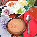 Caribbean Gazpacho by The Art of Alice Terrill