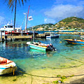 Caribbean Harbor Impressions by Greg Norrell