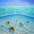 Caribbean Island Dream by Gill Bustamante