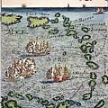 Caribbean Map by Granger