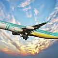 Caribbean Passenger Plane by Anthony Dezenzio