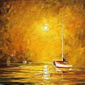 Caribbean Sea by Leonid Afremov