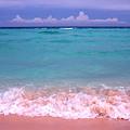 Caribbean Sea Playa Del Carmen by Thomas R Fletcher