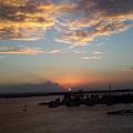 Caribbean Sunset by Joe D Dry