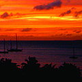 Caribbean Sunset by Tracy Hayden