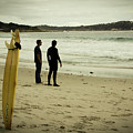 Carmel Beach, Ca by Janine Moore