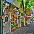 Carmel, Ca. The Shops Of Ocean Ave. by Wendy Seagren