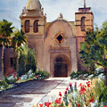 Carmel Mission Basilica by Norah Brown
