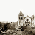 Carmel Mission By A.j. Perkins 1880 by California Views Archives Mr Pat Hathaway Archives