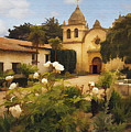 Carmel Mission by Sharon Foster