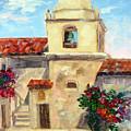 Carmel Mission, Summer by Karin Leonard