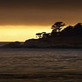 Carmel Sunset by Cyril Matthews