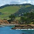 Carmelite Monastery Near Point Lobos by Charlene Mitchell