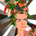 Carmen Miranda by Andre Parra