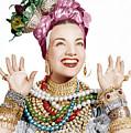 Carmen Miranda, Ca. Late 1940s by Everett