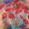 Carnations by Joyce Kanyuk