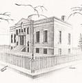 Carnegie Library Mitchell South Dakota by Buffalo Dick Vance