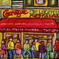 Carnegie's Deli by Carole Spandau