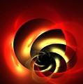 Carnelian Spiral by Kim Sy Ok
