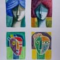 Carnival Masks by Osvaldo Herrera Graham