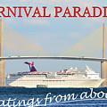 Carnival Paradise Custom Pc One by David Lee Thompson