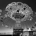 Santa Cruz Sea Swings Carnival Ride by Gregory Dyer