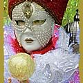 Carnivale Mask #10 by Charles Berman